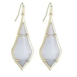 Kendra Scott Olivia in Slate Cat's & Gold